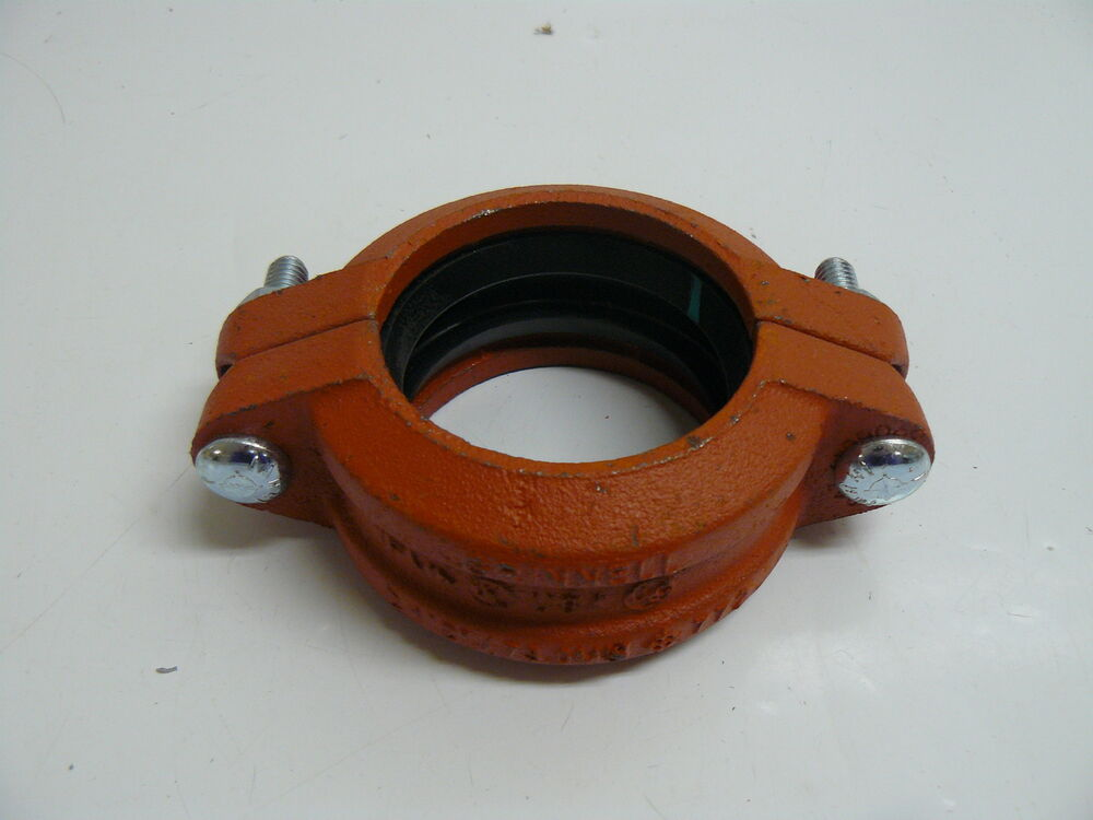Grinnell quot mm fire sprinkler pipe coupling