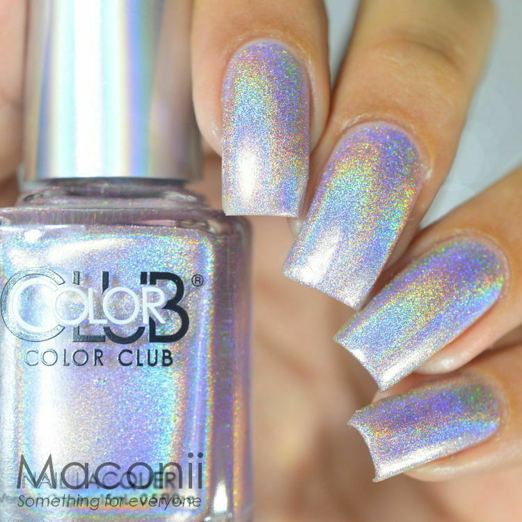 Halo Hues Light Pink Holographic