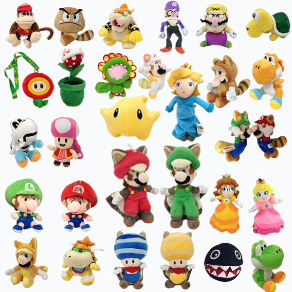 New Super Mario Series Plush Character Soft Toy Stuffed