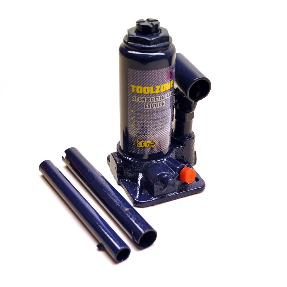 2ton Telescopic Hydraulic Bottle Jack Lifting Ram In Carry