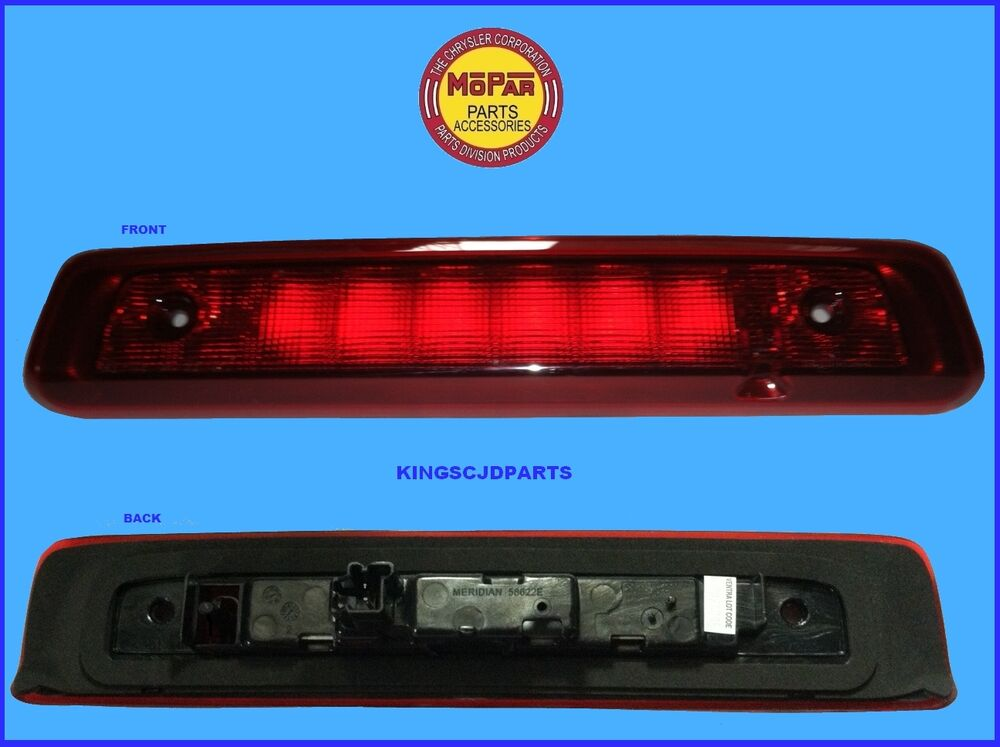 Jeep Commander Center High Mounted Stop Lamp Led Third