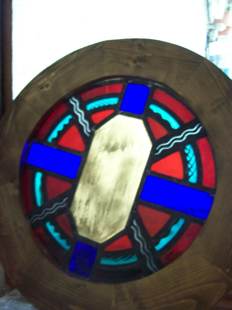 Buy Round Stained Glass Window