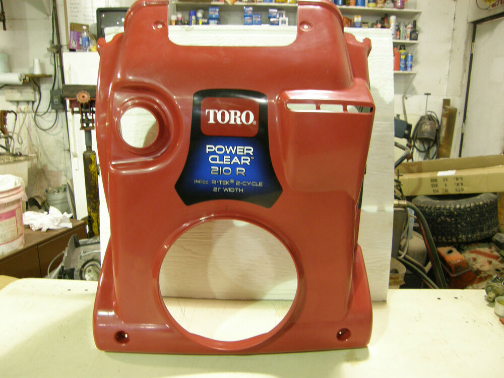 Toro Power Clear 210 Manual : Toro power clear snowblower hood part  ebay