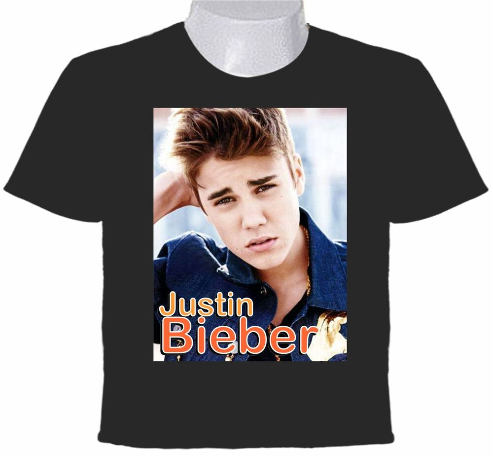justin bieber t shirt canadian singer songgriter. Black Bedroom Furniture Sets. Home Design Ideas