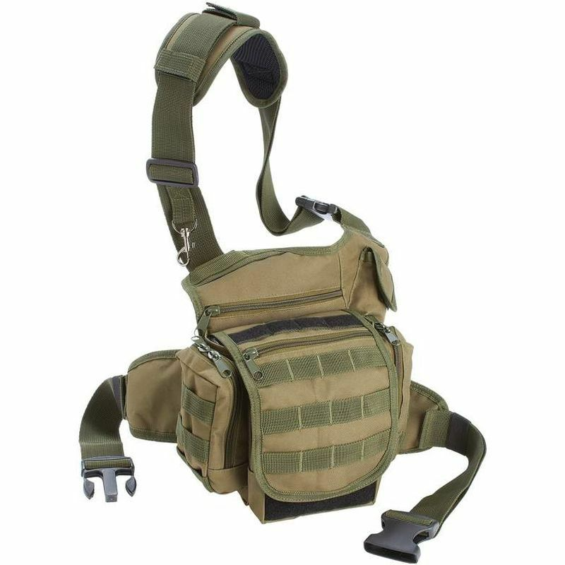 Every Day Carry Outdoor Tactical Bag, Mens EDC Camping