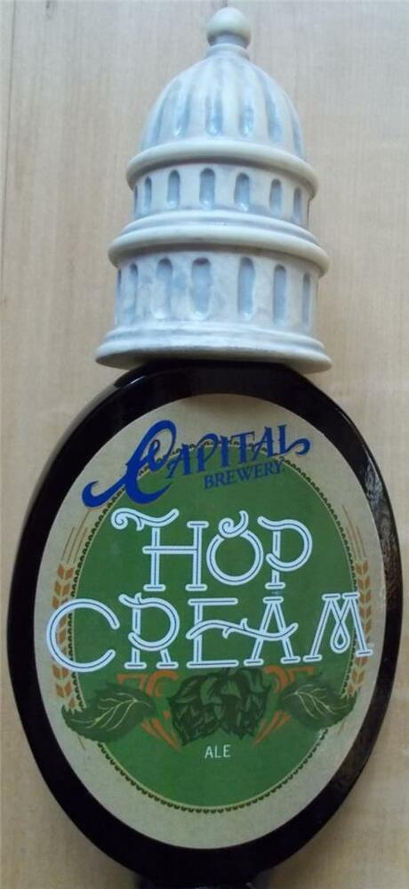 Capital Brewery Quot Hop Cream Ale Quot Black With Capital Beer