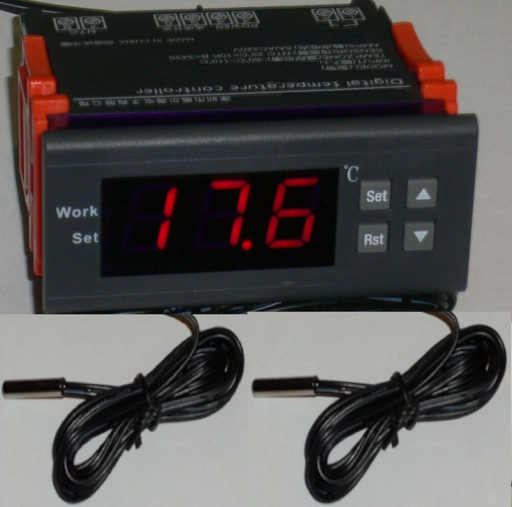 Temperature Controller Thermostat Water Heater Solar Panel
