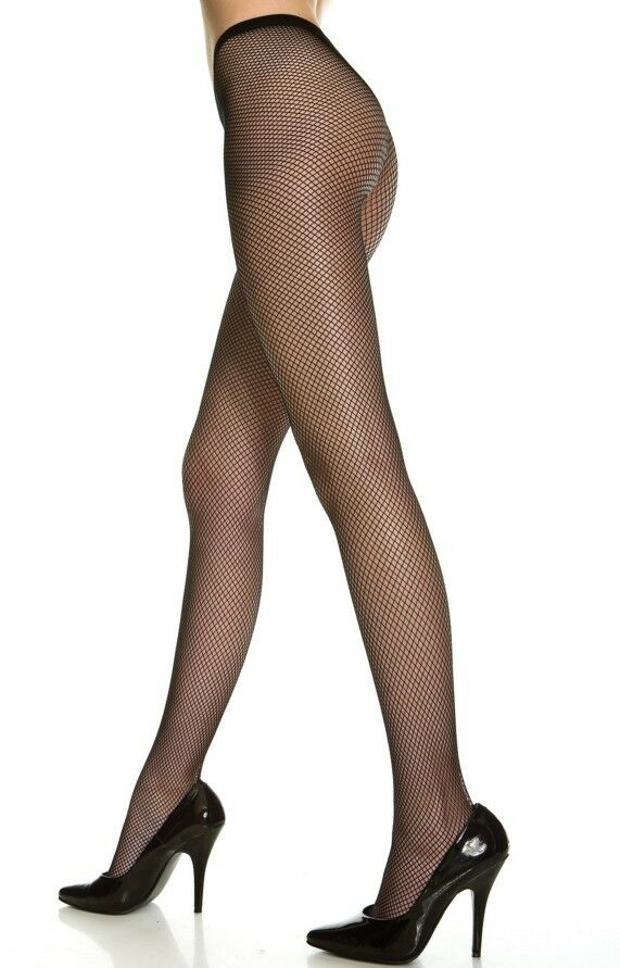 Fishnet tights pantyhose black pink blue green orange for Fish net tights
