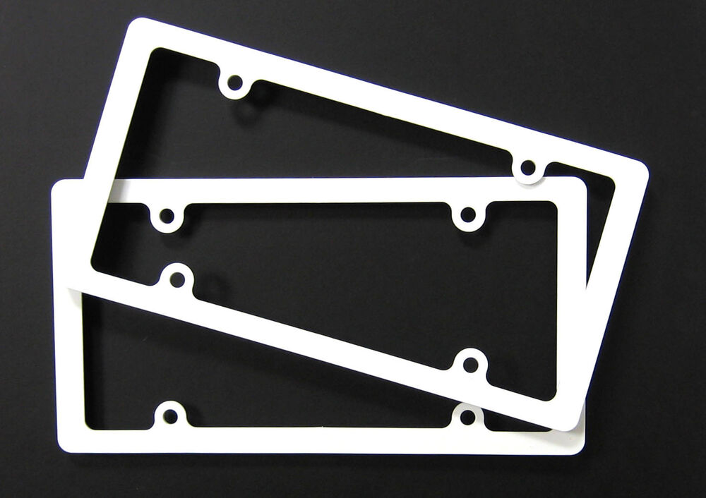 Lot Of 20 Thin Rim Blank License Plate Frame Ez View