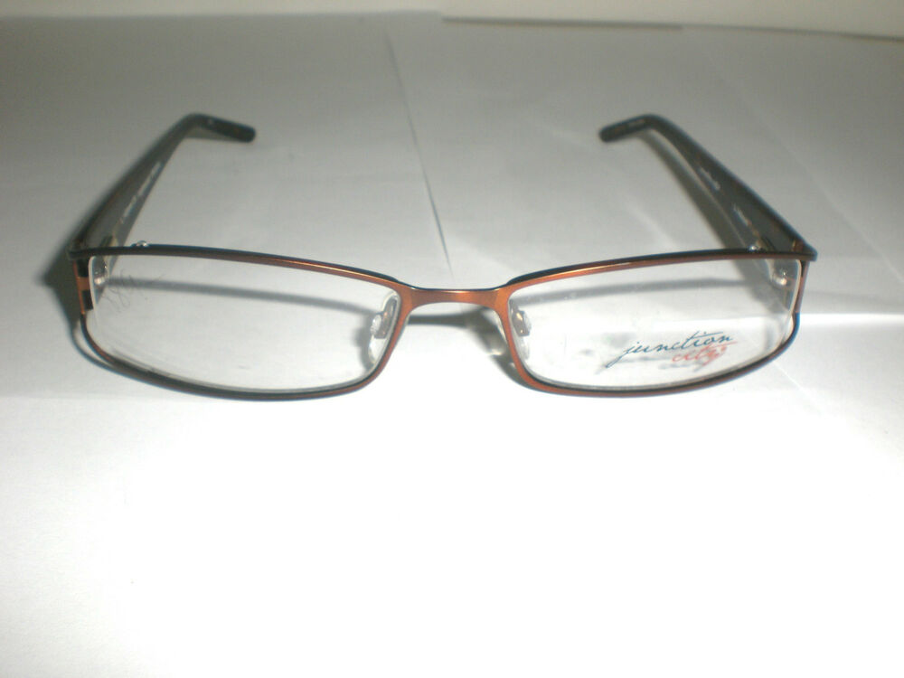 Eyeglasses Frames By Size : Junction City Eyeglasses Frames Inglewood Brown Size 52 18 ...
