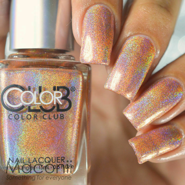 Who Sells Color Club Nail Polish: Halo Hues Copper Holo