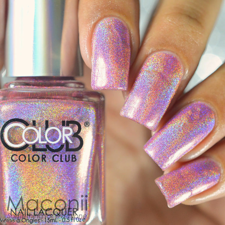 Who Sells Color Club Nail Polish: Halo Hues Pink Holographic Holo