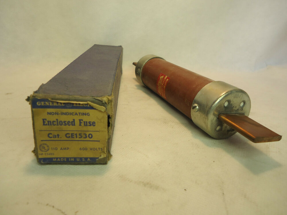 new in box ge general electric ge1530 110 amp fuse | ebay general electric fuse box murray electric fuse box wiring