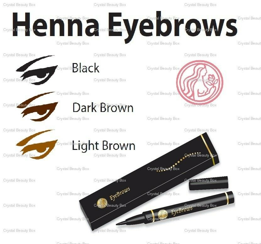 Henna Tattoo Permanent: Henna Eyebrows Natural Temporary Tattoo Pen With Pure
