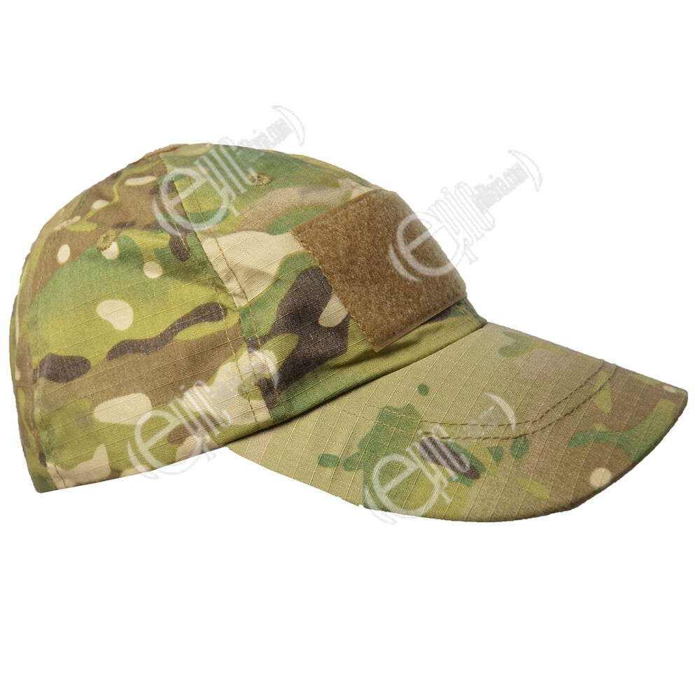 tactical baseball cap multicam one size army camouflage