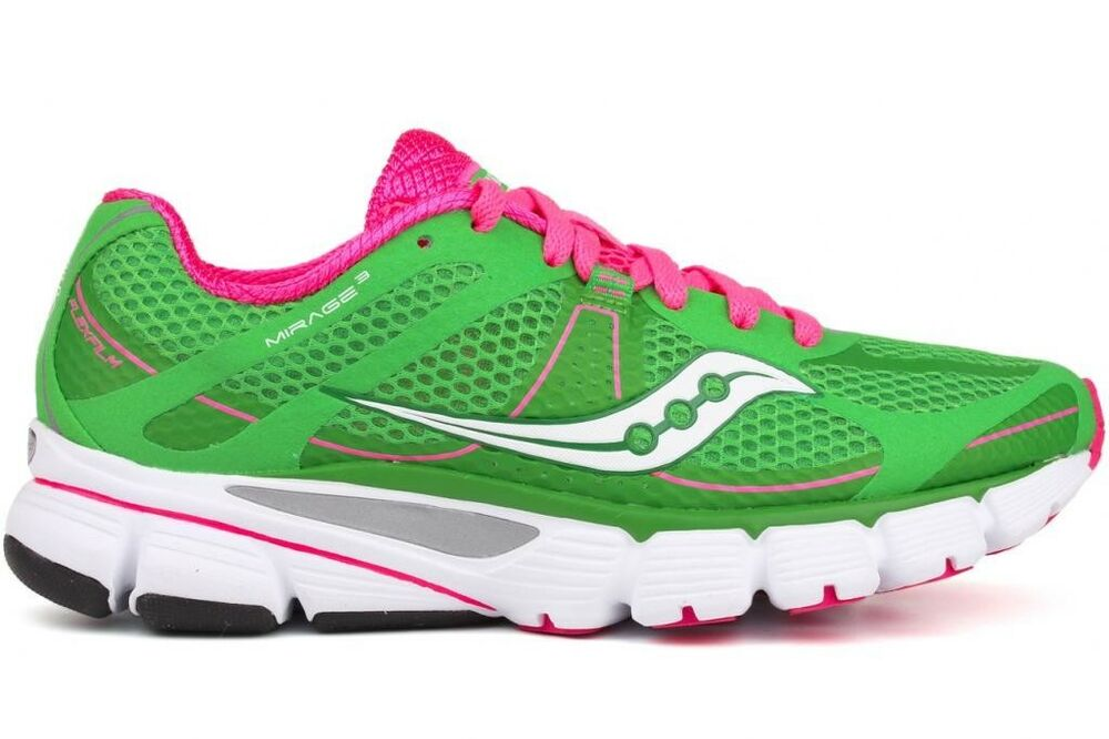 saucony progrid mirage 3 10173 4 new womens green pink