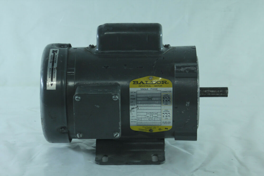 baldor single phase industrial motor model cl3503 ebay