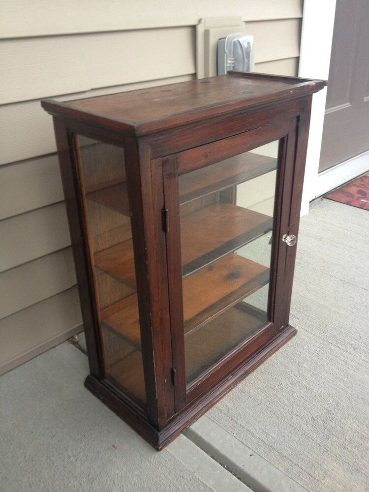 Antique 1930 39 S Display Case Curio Country General Drug
