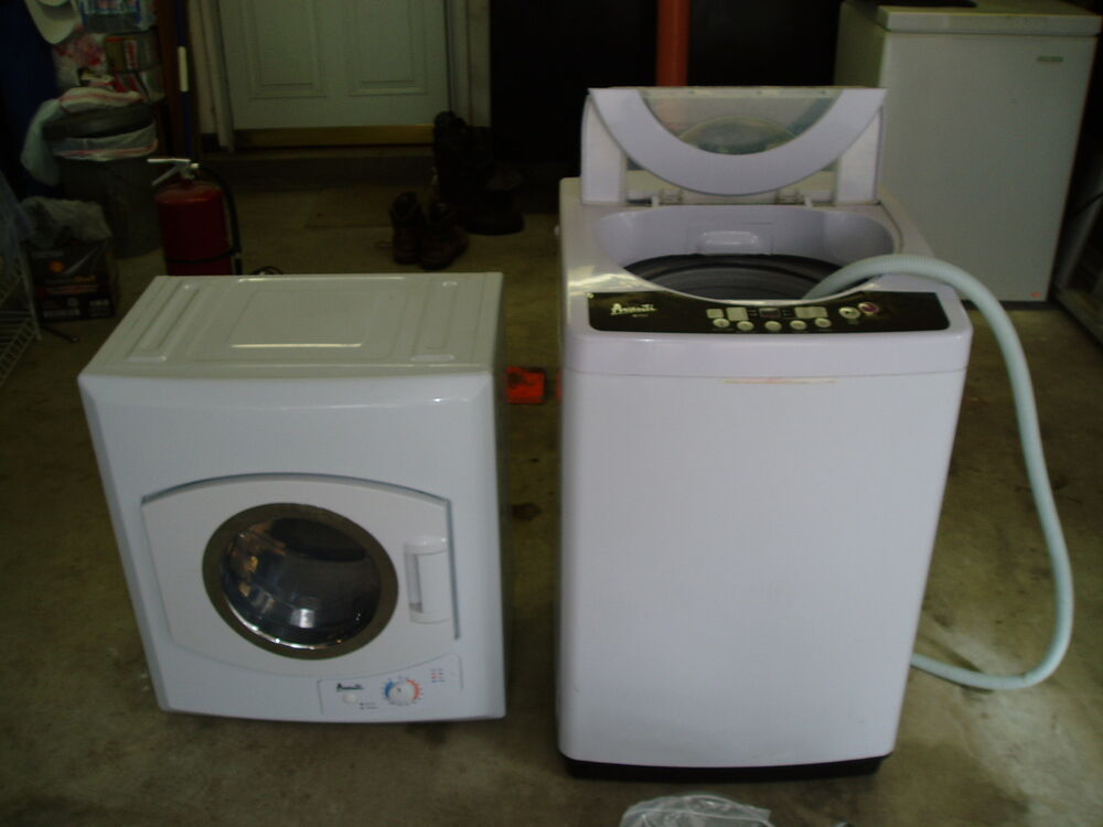 avanti apartment size washer dryer set local pick up