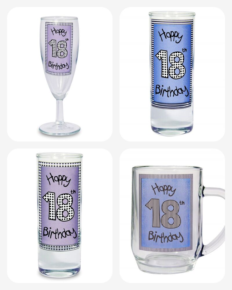 18th BIRTHDAY GIFTS Eighteenth KEEPSAKE For Him Her Girls