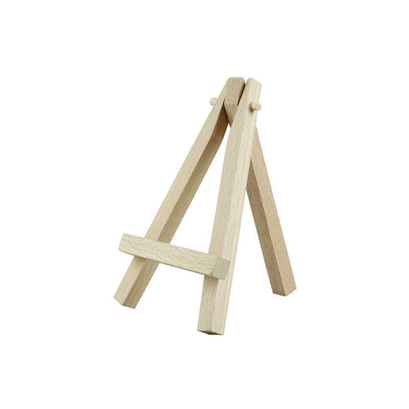 12cm Wooden Art Artists Mini Easel Stand Painting Dolls