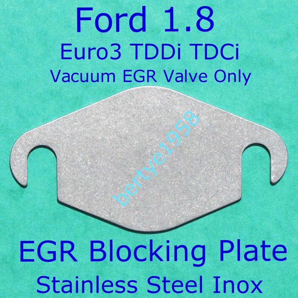 egr valve blanking plate euro3 ford connect focus mondeo. Black Bedroom Furniture Sets. Home Design Ideas
