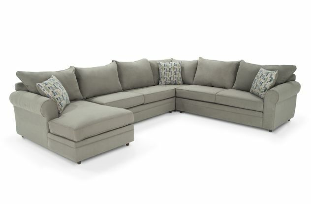 Bob's Furniture Venus 4 Piece Sectional Sofa With Chaise