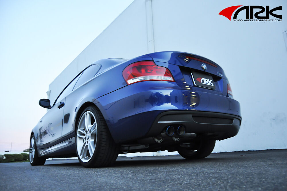 2011 Bmw 328i Accessories >> 2008-2012 ARK PERFORMANCE CATBACK EXHAUST SYSTEM BMW 135i - BURNT TIPS | eBay