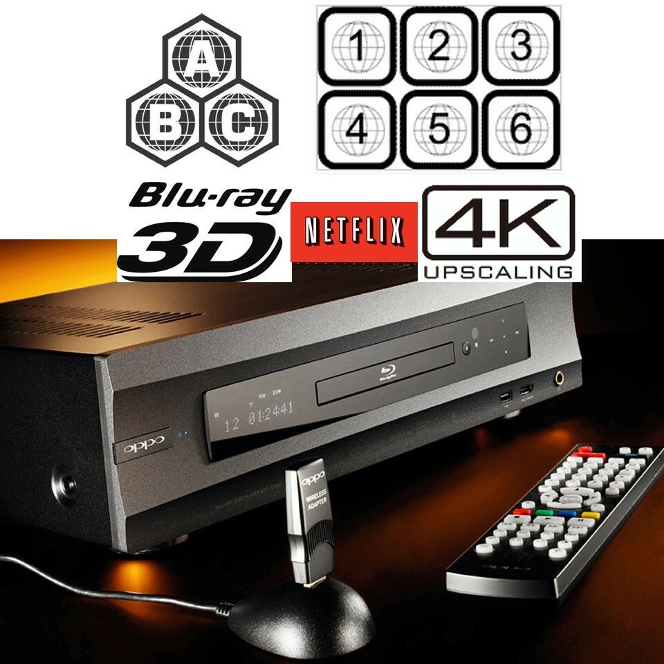 oppo digital bdp 105 multi region code free 3d blu ray. Black Bedroom Furniture Sets. Home Design Ideas