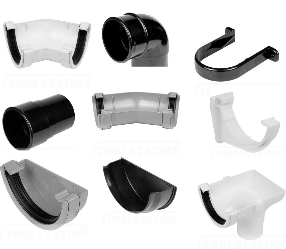 Round 112mm 68mm White Grey Black Guttering Amp Downpipe