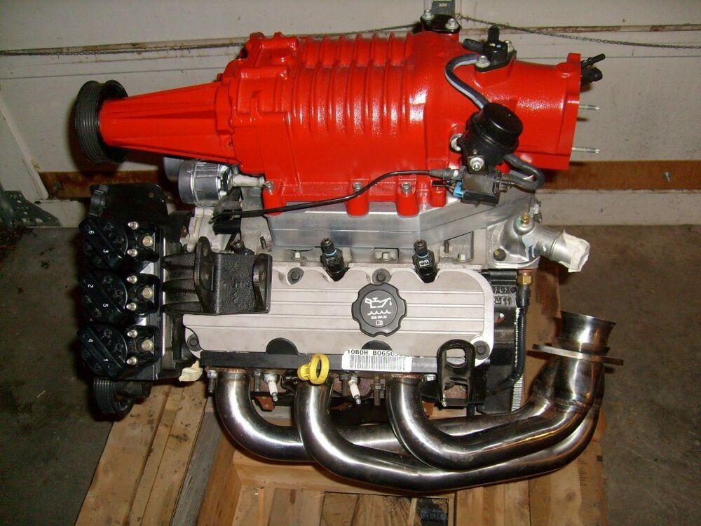 New Series 3 L32 V6 3800 Supercharged GM Crate Motor ...
