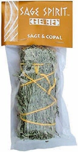 Sage copal smudge stick 5 house cleansing remove Cleansing bad energy from home