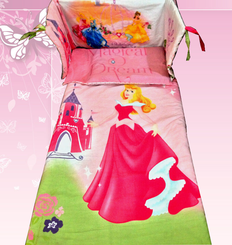 Crib Bedding Set Princess