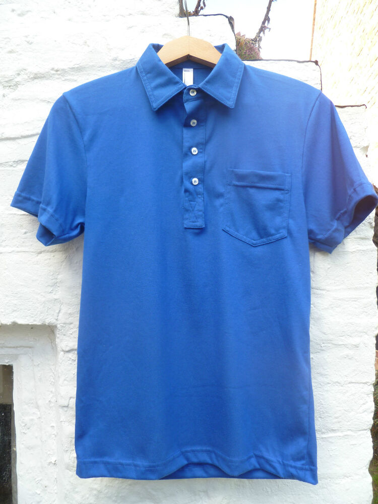 American Apparel Smart Cotton Polo Golf Leisure Top T: fair trade plain t shirts