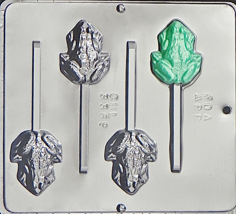 Frog Lollipop Chocolate Candy Mold 3369 New Ebay