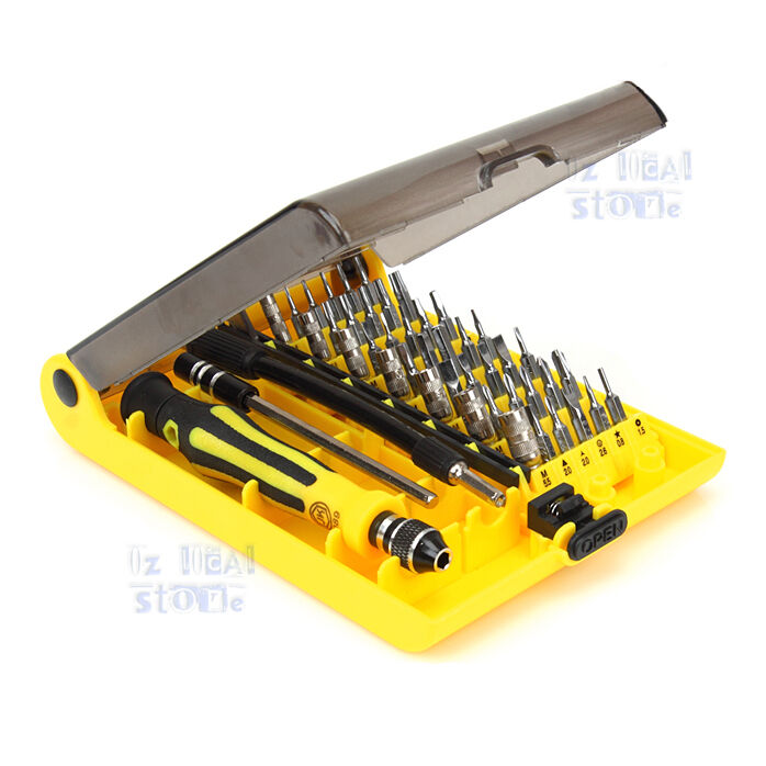 screwdriver repair tool box set kit for rc model xbox 360 wii psp pda control. Black Bedroom Furniture Sets. Home Design Ideas