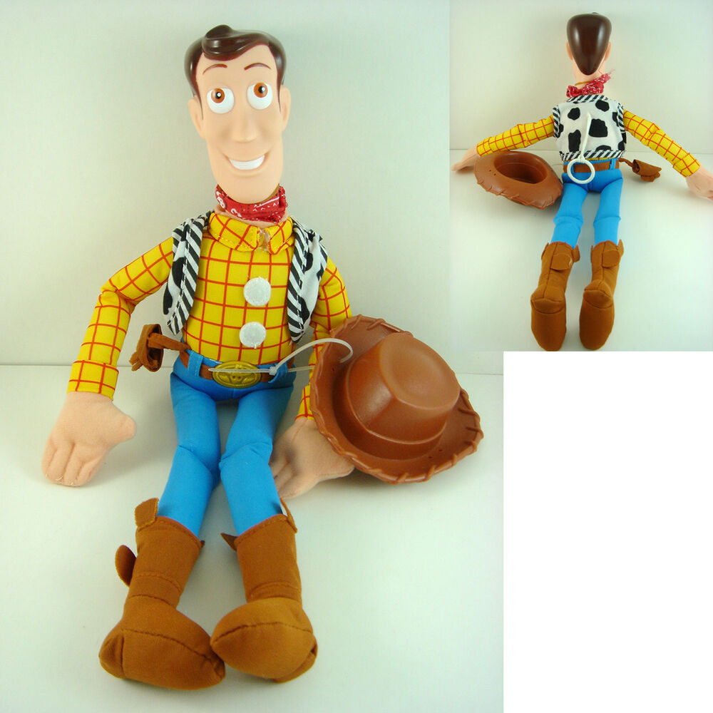 NEW ARRIVAL Disney TOY STORY WOODY 16u0026quot; Soft Plush Doll Toy + CHARM | EBay