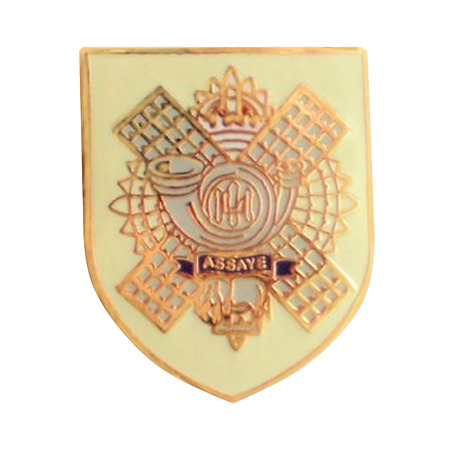 img-British Army Highland Light Infantry Pin Badge - MOD Approved