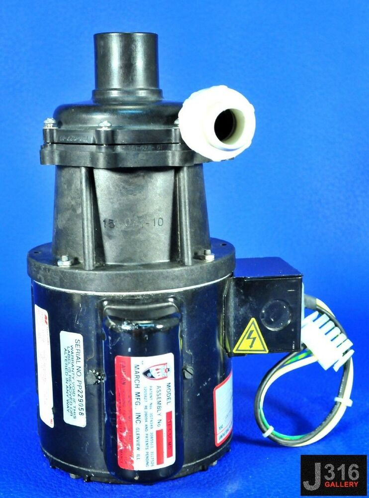 2583 magnetek march centrifugal pump w electric motor for Used electric motor shop equipment for sale