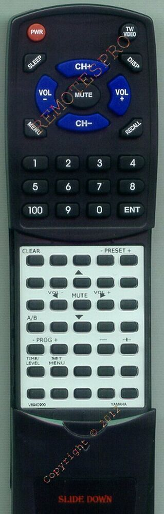 Replacement remote for yamaha htr5440 htr5450 v6940900 for Yamaha remote control app