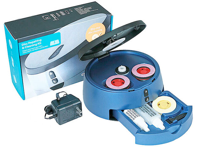 cd dvd scratch remover machine