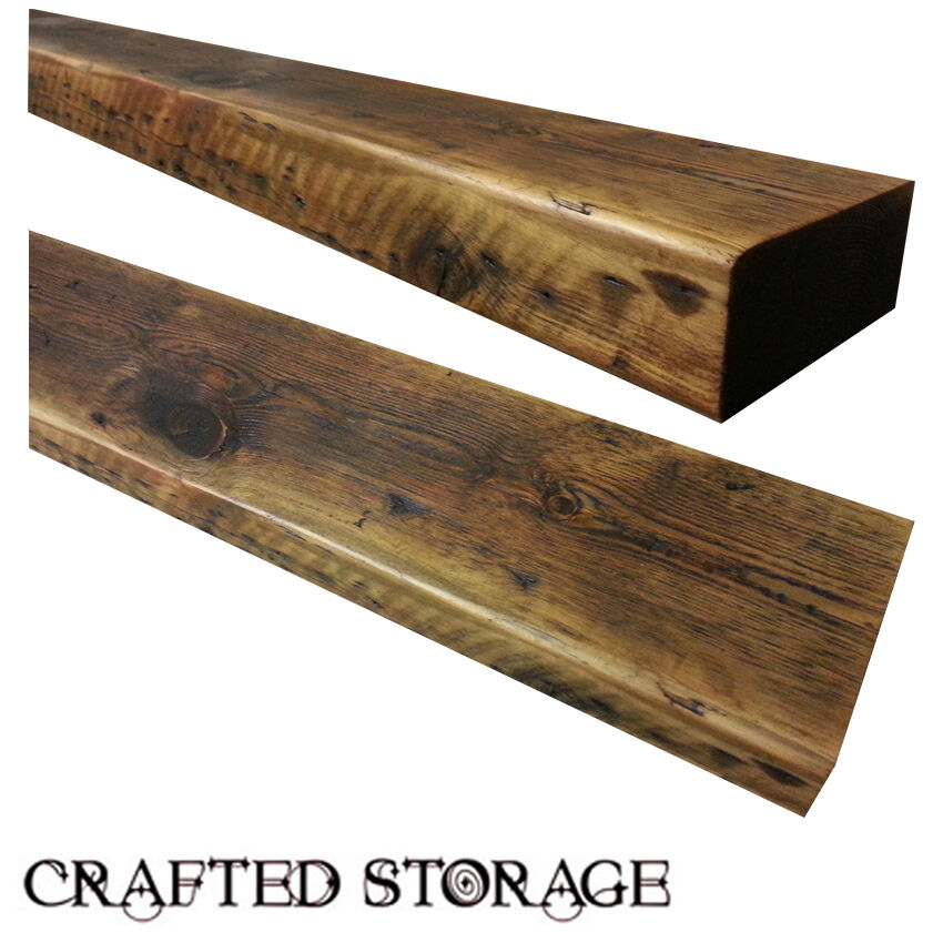 Floating Wood Shelves ~ Reclaimed chunky floating shelf shelves wooden free