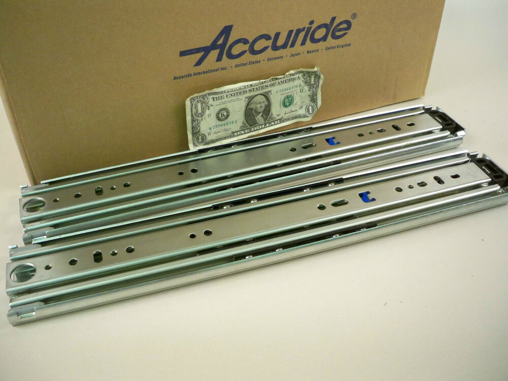 1 Pair Accuride 9301 18 Quot To 22 Quot Drawer 500 Lb Full