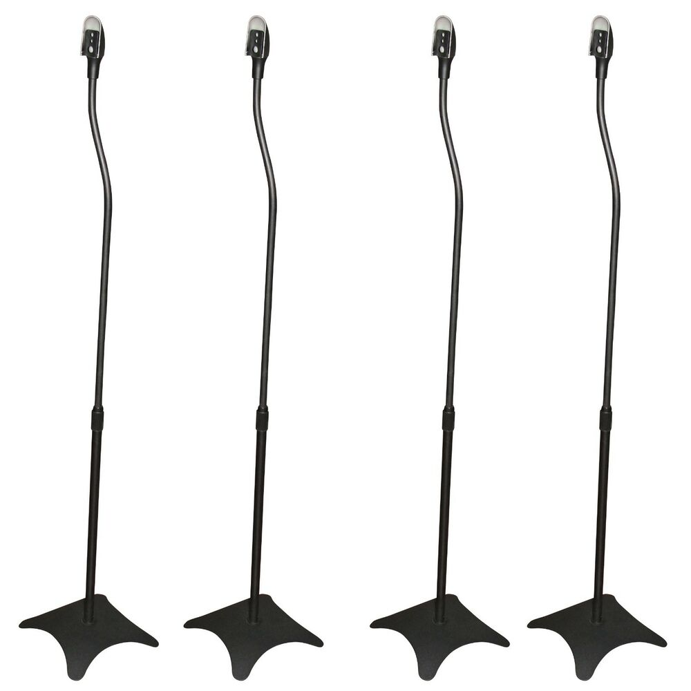 4 pack of premium universal black satellite surround