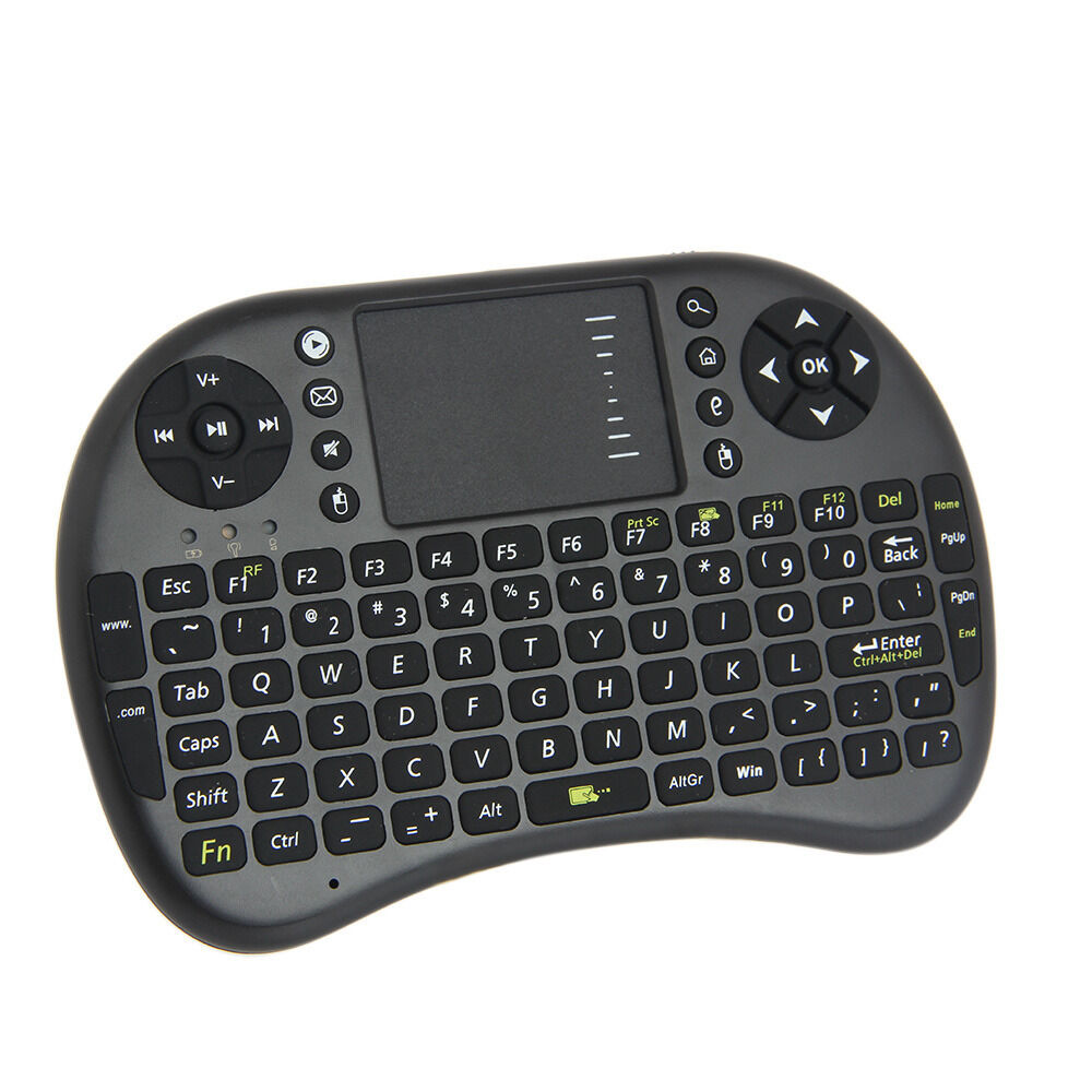 mini 2 4ghz wireless keyboard with touchpad portable keyboard mouse combo new ebay. Black Bedroom Furniture Sets. Home Design Ideas