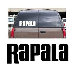 Rapala decal sticker fishing rod bass boat hunting reel lure crappie truck bait