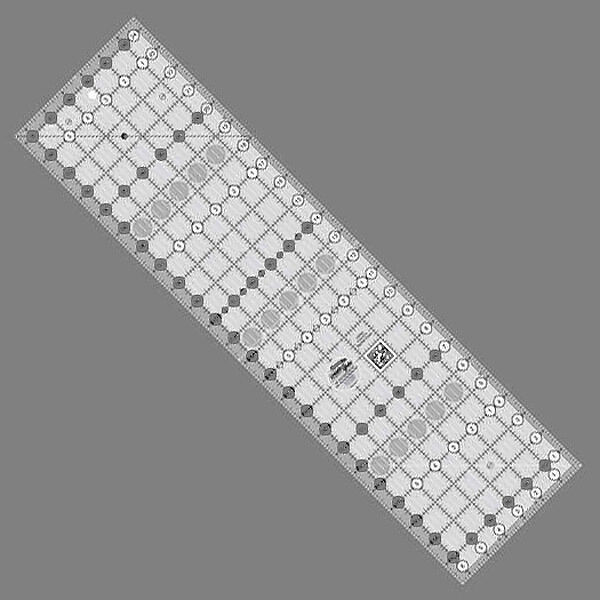 6 5 Quot X 24 5 Quot Creative Grids New Quilt Ruler Gripper Dots