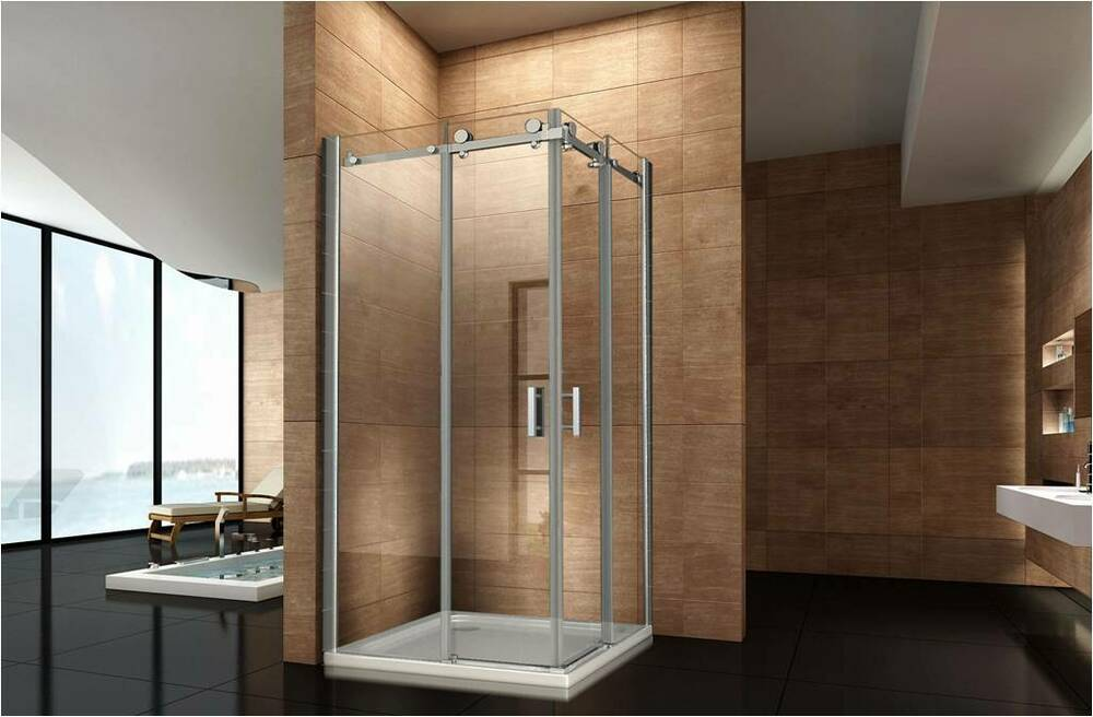 duschkabine 1200x800mm duschabtrennung walk in dusche duschwand dusche ebay. Black Bedroom Furniture Sets. Home Design Ideas