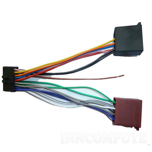 pioneer 18 pin iso wiring harness deh p80mp 12562681269 ebay