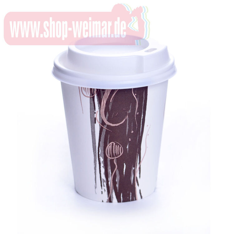 coffee to go becher deckel 0 3l hartpapierbecher pappbecher kaffee einweg enjoy ebay. Black Bedroom Furniture Sets. Home Design Ideas